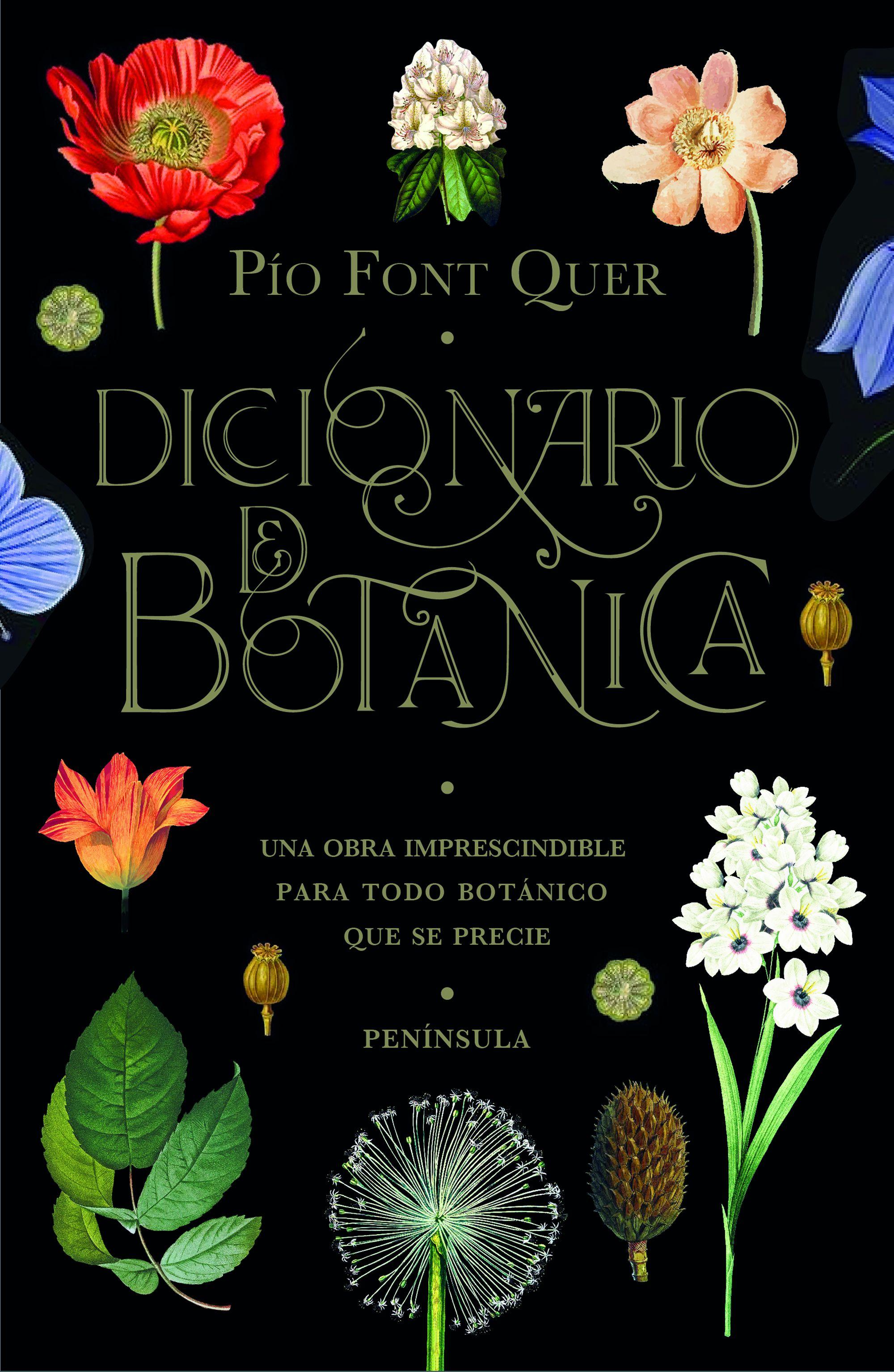 Diccionario de botánica