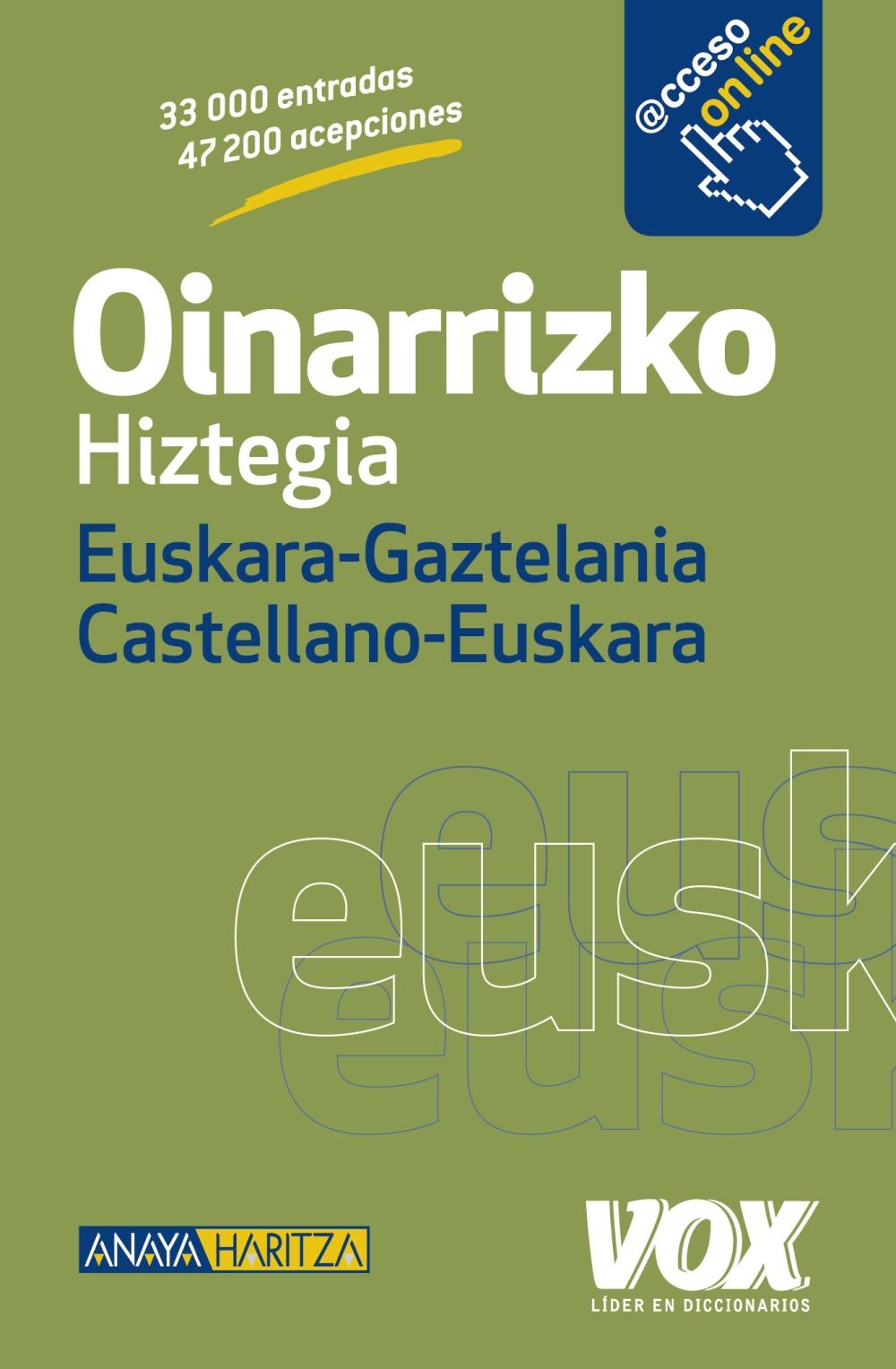 Oinarrizko Hiztegia Euskara-Gaztelania / Castellano-Euskara