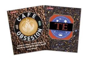 LOTE LIBRO DEL TE+CAFÉ OBSESION