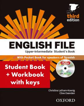 English File 3rd Edition Upper-IntermediateStudent's Book + Workbook with Key Pack