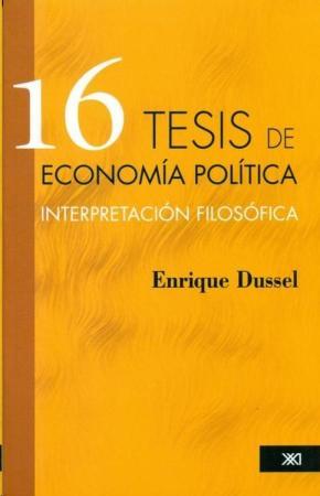 16 TESIS DE ECONOMÍA POLÍTICA