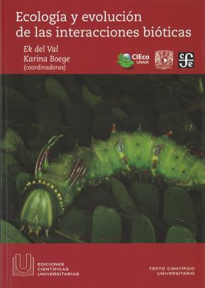 ECOLOGIA Y EVOLUCION DE LAS INTERACCIONES...