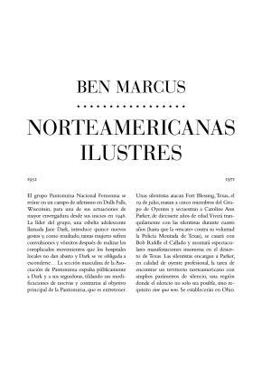Norteamericanas ilustres