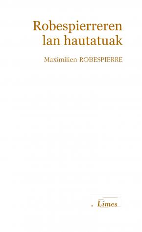 Robespierreren lan hautatuak