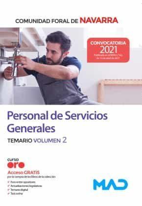 Personal de Servicios Generales de la Administración de la Comunidad  Temario volumen 2