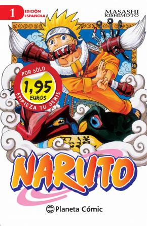 MM Naruto nº 01 1,95