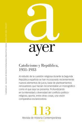 Catolicismo y República, 1931-1933