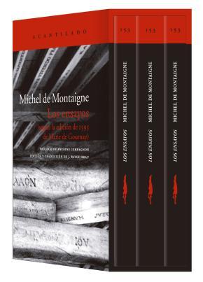Los ensayos (estuche con tres volúmenes)