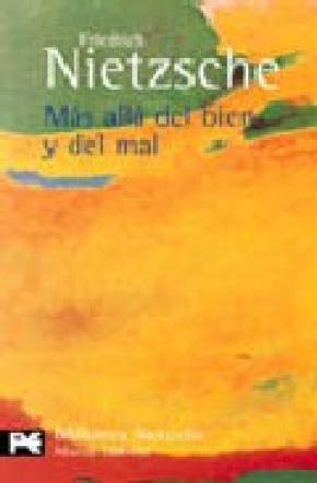 MÁS ALLÁ DEL BIEN Y MAL