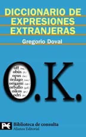 Diccionario de expresiones extranjeras