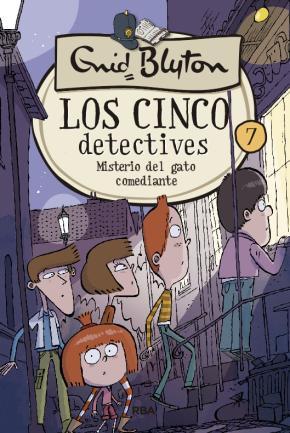 Los cinco detectives 7: Misterio del gato comediante