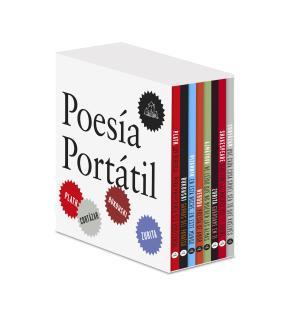 Poesía Portátil (Cortázar | Shakespeare | Zurita | Ajmátova | Neruda | Pizarnik | Bukowski | Plath)