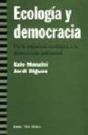 ECOLOGIA Y DEMOCRACIA