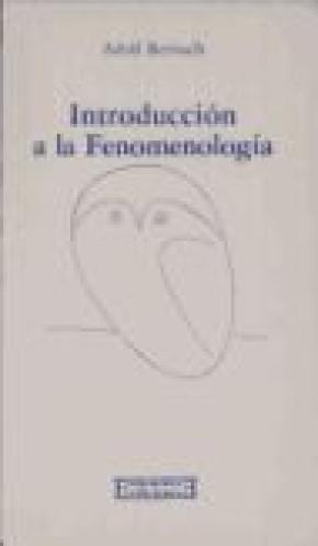 Introducción a la Fenomenología