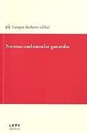 NORMAS AMBIENTES GENERALES