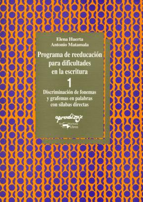 Programa de reeducación para dificultades en la escritura - 1