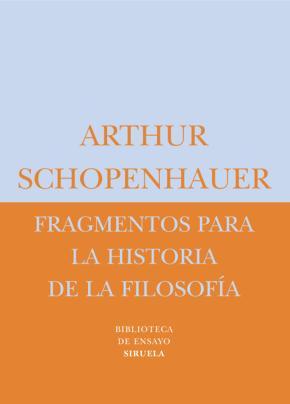 Fragmentos para la historia de la filosofía