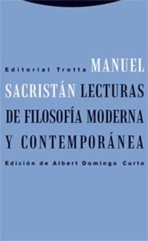 Lecturas de filosofía moderna y contemporánea