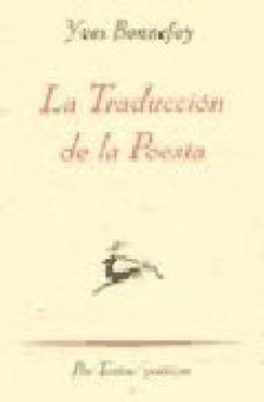 La traducción de la poesía
