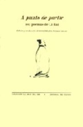 A punto de partir. 100 poemas de Li Bai