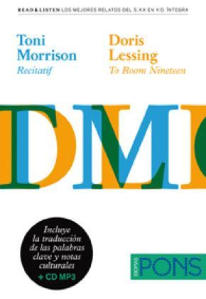 """Colección Read & Listen - Toni Morrison """"Recitatif""""/Doris Lessing """"To room nineteen"""" + mp3"""