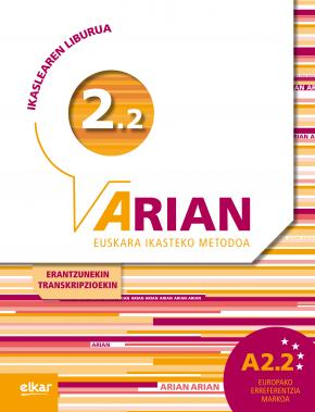 Arian A2.2 Ikaslearen liburua (+CD audioa)