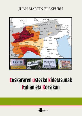 Euskararen ustezko kidetasunak Italian eta Korsikan