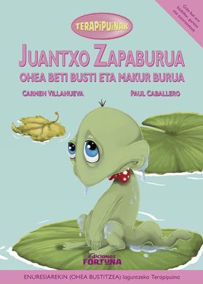 Juantxo zapaburua ohea beti busti eta makur burua