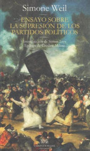 Ensayo sobre la supresión de los partidos políticos