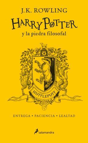 Harry Potter y la piedra filosofal (edición Hufflepuff del 20º aniversario) (Harry Potter 1)