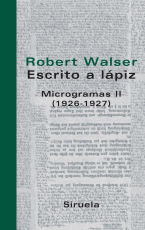 Escrito a lápiz. Microgramas II