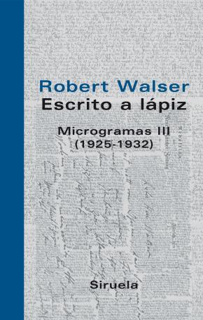 Escrito a lápiz. Microgramas III