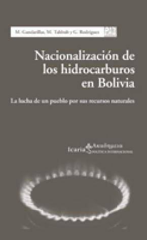 Nacionalización de los hidrocarburos en Bolivia