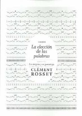 LA ELECCION DE LAS PALABRAS