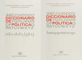 DICCIONARIO DE POLITICA (2 TOMOS)