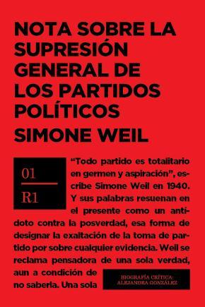 NOTA SOBRE LA SUPRESIÓN GENERAL DE LOS PARTIDOS POLÍTICOS