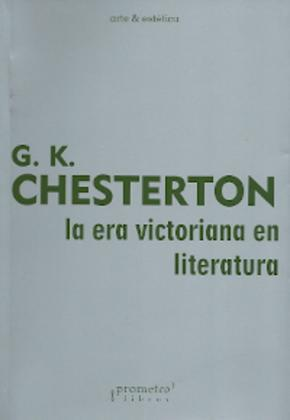 LA ERA VICTORIANA EN LITERATURA