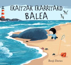 Ekaitzak ekarritako balea
