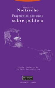 Fragmentos póstumos sobre política