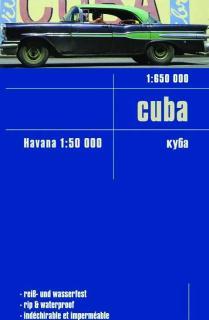 CUBA 1:650.000 IMPERMEABLE