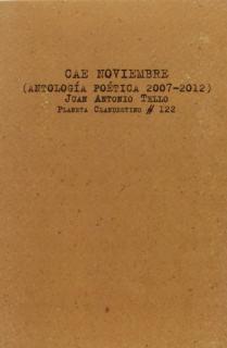 CAE NOVIEMBRE/ANTOLOGIA POETICA 2007-2012