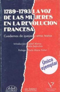 1789-1791, LA VOZ DE LAS MUJERES EN LA REVOLUCIÓN FRANCESA