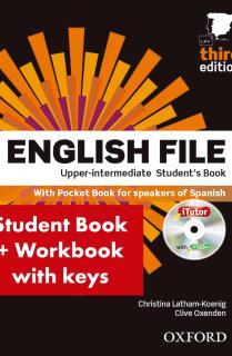 English File Upp Int Sb+Wb W/K Pk 3Ed