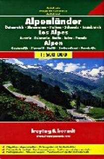 LOS ALPES (AUST.- IT.- SUI.- FR.- SLOV.) 1:500.000