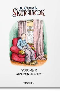 Robert Crumb. Sketchbook Vol. 2. 1968–1975