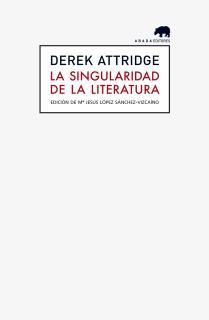 La singularidad de la literatura