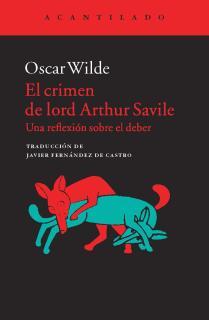El crimen de lord Arthur Savile
