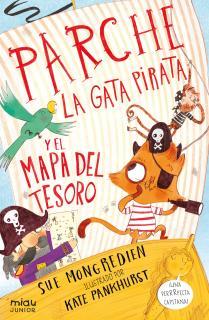Parche la gata pirata y el mapa del tesoro