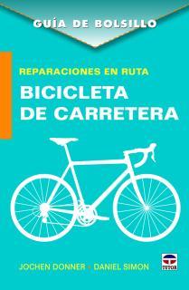 Reparaciones en ruta. Bicicleta de carretera