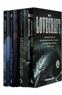 Estuche - H.P. Lovecraft: mejores títulos + notebook